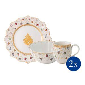 Villeroy & Boch Toy's Delight Frühstücks-Set für 2 Jubiläumsedition, 6tlg. 1485859075