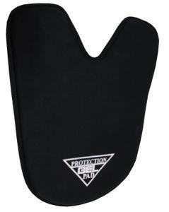 AMKA  Rückenschoner Gel Pad Rückenschoner mit Widerristausschnitt  schwarz