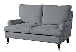 Max Winzer Passion Sofa 2-Sitzer - Farbe: grau - Maße: 158 cm x 108 cm x 94 cm; 2914-2100-1645216-F07