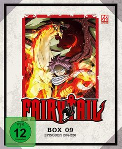 Fairy Tail - TV Serie - Box 9 - Episoden 204-226 - Blu-Ray