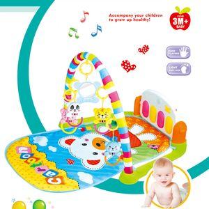 Musik Erlebnisdecke mit Spielbogen Spieldecke Krabbeldecke Spielmatte Babygym DE