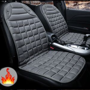 Auto Sitzheizung 12V 2 Heizstufen Heizauflage Heizstufe beheizbare Sitzauflage Heizkissen PKW Schwarz Schnelles Erhitzen mit Zigarettenanzünder