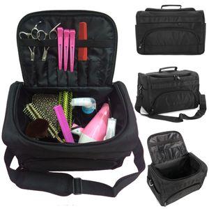 Große Friseurtasche Friseur Pro Werkzeugtasche Nylon Salon Friseur Make-up Box