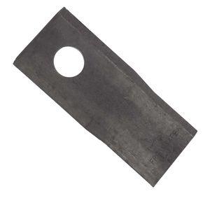 25x Klinge für Kreiselmäher | rechts | 112 x 48 x 4 mm | passend zu Zweegers | Vergleichsnr.: GM166