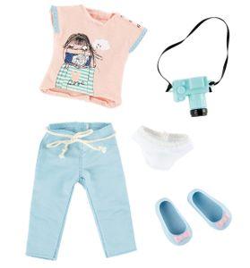 Käthe Kruse Fotografen-Outfit Teenager-Puppen-Kleidungsset 5-teilig