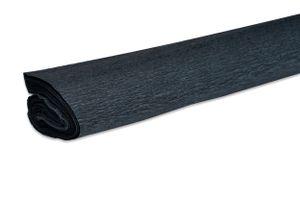 VBS Krepppapier, 50x200 cm, ca. 32 g/qm Schwarz