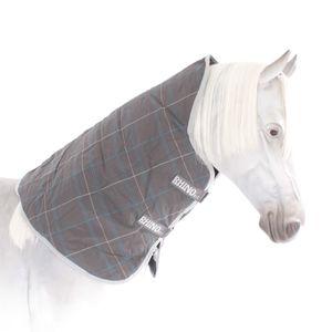 Horseware Rhino Turnout Hood 250g - Char/Blue/White - Halsteil, Größe:XL