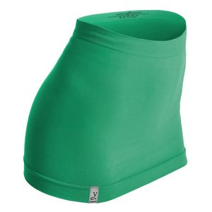 Kidneykaren Nierenwärmer Basic- Tube Multifunktion Yogagurt Fitness & Freizeit Smaragd (grün), Größe:S