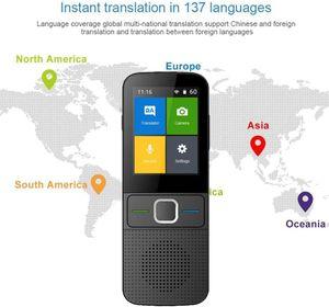 NightyNine Übersetzer Sprachübersetzer mit 137 Sprachen,Smart Sprachübersetzer Device Mit Foto-Übersetzungsfunktion,Voice Translator Bidirektionale Übersetzungen WIFI Offline für Urlaub Lernen Reisen