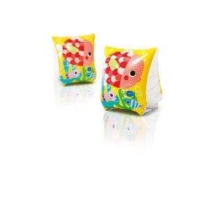 INTEX Arm-Manschetten Fun Fish Schwimmhilfe Baby Kinder Schwimmflügel
