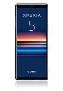 Sony Xperia 5 schwarz, Farbe:Blau