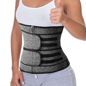 Bauchweggürtel, Fitness Gürtel zur Fettverbrennung Verstellbarer, Taille Trimmer Gürtel Fitnessgürtel, S