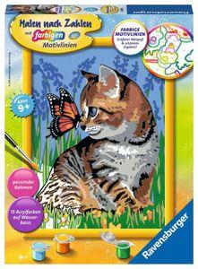Katze mit Schmetterling Ravensburger 28651