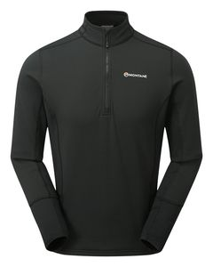 Iridium Hybrid Pull-On Men (Fleece-Pullover) - Montane, Farbe:BLACK, Größe:XL