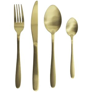 Besteck set 16 teilig Excellent Gold Hauseware ta collection Edelstahl