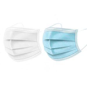 1x Mundschutz Einweg Atemschutz Maske Gesichtsmaske Atemmaske Schutzmaske 3-Lagig