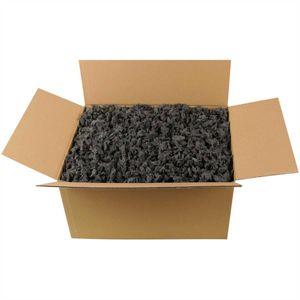 Verpackungschips Schwarz - 70 Liter / Füllmaterial und Packpolster optimal für Paketversand