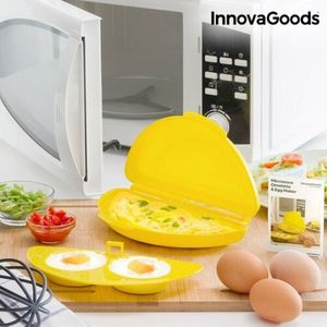 GKA Mikrowelle Rührei Maker Omelett pochierte Eier Spiegelei Maker Omelettmaker Omlett