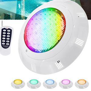 45W LED RGB Schwimmbad Poolbeleuchtung Teichbeleuchtung Strahler + FernbedienungIP68 Wasserdicht