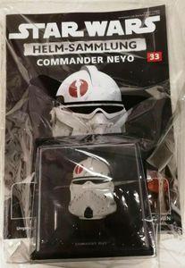 Star Wars COMMANDER NEYO Helm Sammlerstück 33