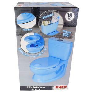 Dolu 7251 Toilettentrainer Blau Jungen Kinder Toiletten Sitz Lern Töpfchen Neu