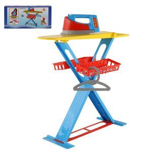 POLESIE Bügelbrett mit Bügeleisen Bügelstation Kinderspielzeug Haushalt 43467