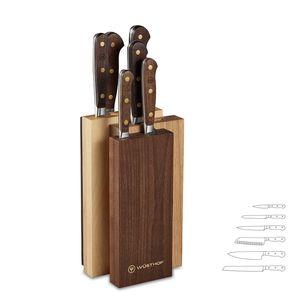 Wüsthof Messerblock Set 4-Hölzer NEW 7tlg Crafter
