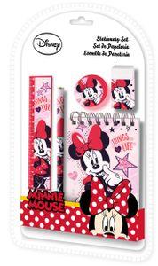 Disney schulbedarf Minnie Mouse Mädchen rosa 5-teilig