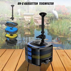 MAUK UV-C Kassetten Teichfilter System Unterwasser Komplett set