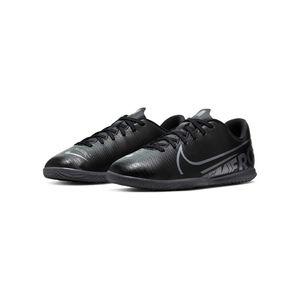 Nike Jr. Mercurial Vapor 13 Club IC Indoor Hallenschuh, Größe Nike Youth Schuhe:38.5, Farbe Nike:BLACK/MTLC COOL GREY-COOL GREY