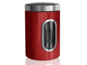 Vorratsdose Scatola   Mit Sichtfenster   Rot