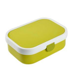 Mepal Campus Brotdose mit Bento-Einsatz, 17,8 x 13,2 x 6,1 cm, lime