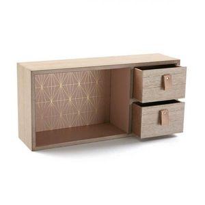 Box-Schmuckkästchen Holz  BigBuy Home