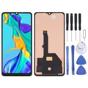 Für Huawei P30 Pro Display Full TFT LCD Einheit Touch Ersatzteil Reparatur Schwarz Neu (ohne Fingerprint Funktion)