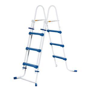 Summer Waves Poolleiter 91cm 3 Stufen Sicherheitsleiter Einstiegsleiter Schwimmbad Leiter