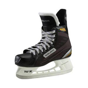 BAUER Kinder Eishockeyschuhe Eish-Complet Supreme Pro Jr - 900 SCHWARZ/SILBER/GOLD / 2