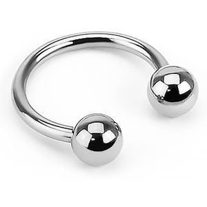 Piercing Ring Hufeisen Augenbrauen Lippen Ohr Nasen Intim Piercing Circular Barbell  1,2 mm 10 mm