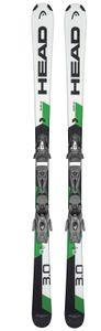 Head Shape 3.0 weiss / grün + Tyrolia PR 10 GW Promo Bindung, Größe:170