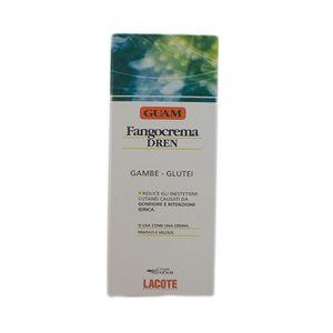 Guam Fangocrema Dren Anticellulite Creme Beine und Po 200 ml