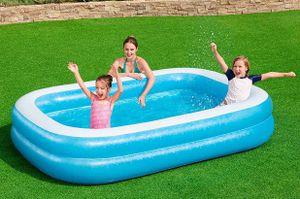 Bestway Family Pool | 262 x 175 x 51 cm | Kinder Planschbecken rechteckig
