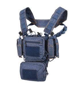 Helikon-Tex Training Mini Rig Army Taktikal Weste Taschen Melange Blue One size
