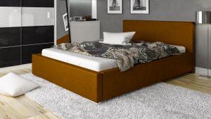 Polsterbett Bett Doppelbett NELIO 160x200cm inkl.Bettkasten