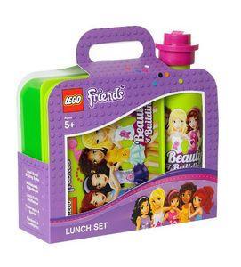 Lego 40591716 - Friends - Frühstücksset mit Brotdose und Trinkflasche