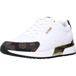 Guess Damen Sneaker Sneaker Low Synthetik weiss 39