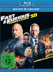 Fast & Furious: Hobbs & Shaw (Blu-ray 3D + Blu-ray)