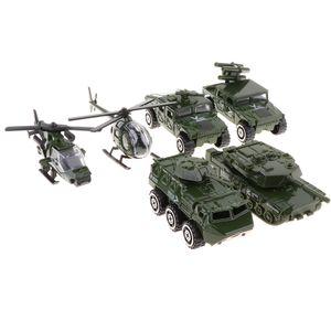 6 Stücke 1:87 Diecast Legierung Military Fahrzeug Tank Spielzeugautos Spielset Für Kinder Geschenk