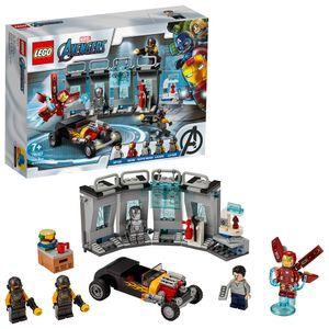 LEGO 76167 Super Heroes Marvel Avengers Iron Mans Arsenal, Erweiterungsset