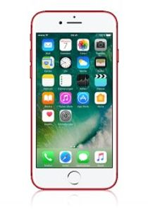 Apple iPhone 7 mit 256 GB in rot