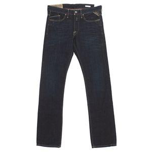 18414 Replay, Waitom Regular Slim,  Herren Jeans Hose, Denim, darkblue, W 30 L 34
