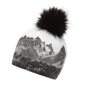 Strickmütze für Damen mit Bommel von Eisbär